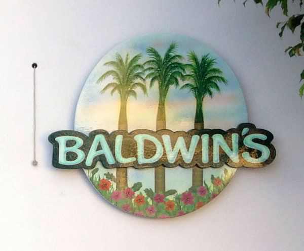 image of our sign with logo at entrance