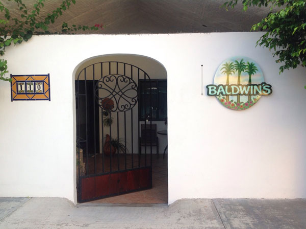 Image of Entrance to Baldwins Bed and Breakfast