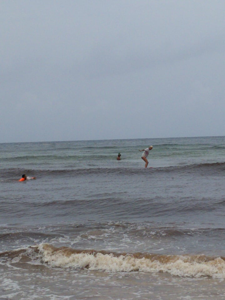 Hannah Surfing